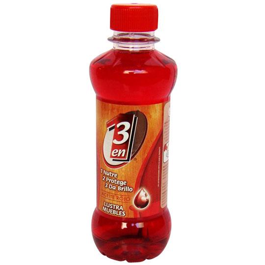 3 en 1 aceite lustrador rojo muebles lja 3en1 aceite upc